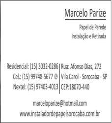 Marcelo Parize instalações